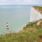 Seven Sisters Cliffs 19 Art Print