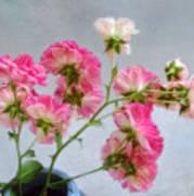 Seven Sisters Roses Art Print
