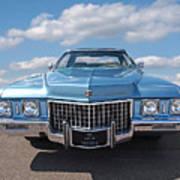 Seventies Superstar - '71 Cadillac Art Print