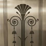 Severance Hall Art Deco Door Detail Art Print