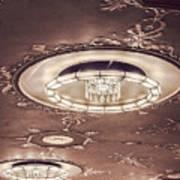 Severance Hall Ceiling Detail   Art Print