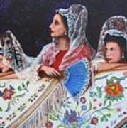 Sevilla's Ladies Art Print