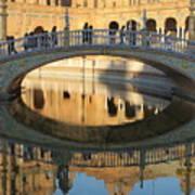 Seville, Spain Tile Bridge Art Print