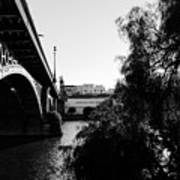Seville - Triana Bridge Art Print