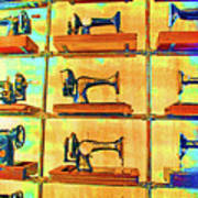 Sewing Machines Come To Life Art Print