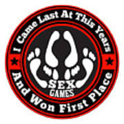 Sex Games Art Print