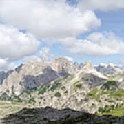 Sextener Dolomites Art Print