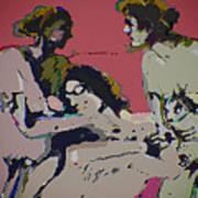 Sexual Anxiety Art Print