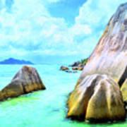 Seychelles Shallows Art Print