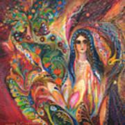 Shabbat Queen Art Print