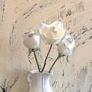 Shabbi Chic Roses Art Print