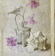 Shabby Chic Azalea Fantasy Art Print