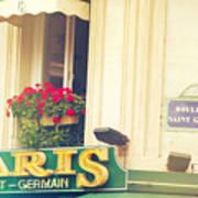 Shabby Chic Paris Saint Germain Art Print