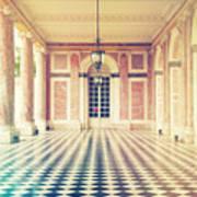 Shabby Chic Versailles Columns Of Grand Trianon Art Print