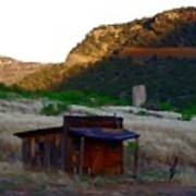 Shack In The Canyons Art Print