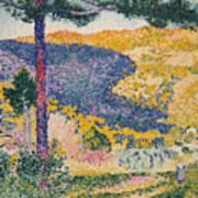 Shade On The Mountain Art Print