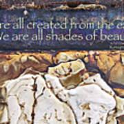 Shades Of Beauty Art Print by Kevyn Bashore