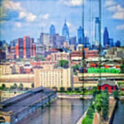 Shades Of Philadelphia Art Print