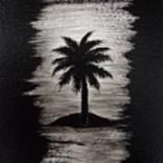Shadow Beach Art Print
