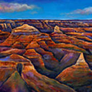 Shadow Canyon Art Print by Johnathan Harris