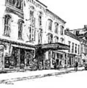 Shadowland Theater Art Print