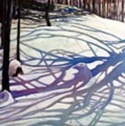 Shadows Dancing Art Print