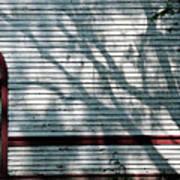 Shadows On Churchdoor Art Print