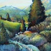 Shady Creek Art Print