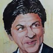 Shah Rukh Khan Art Print