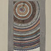 Shaker Circular Rug Art Print