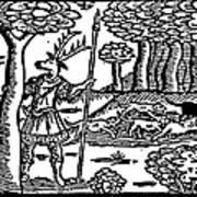 Shakespeare: Falstaff Art Print