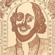 Shakespeare Art Print
