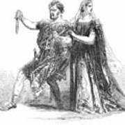 Shakespeare: Macbeth, 1845 Art Print