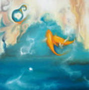 Shallow Waters Art Print