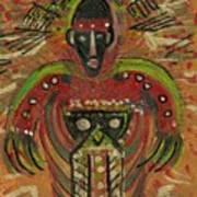 Shaman Says Walk Softly And Carry A Big Schtik Art Print