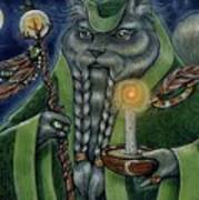 Shaman's Moon Art Print