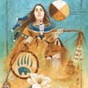 Shaman's Path Art Print