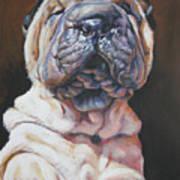 Shar Pei Pup Art Print