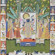 Sharad Utsav - V Art Print