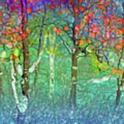 Sharing Colours And Dreams Art Print