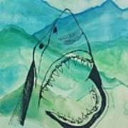 Shark Mountain  Art Print