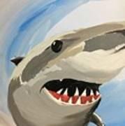 Sharky Grin Art Print