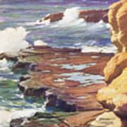 Sharp Rocky Coastline Art Print