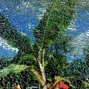 Shattered Plant Art Print