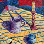 Shaving Mug Art Print