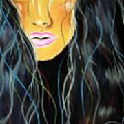 She Shines Art Print