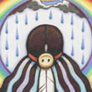 She Who Brings The Rain Art Print