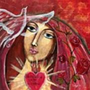 She Who Comforts Us Art Print