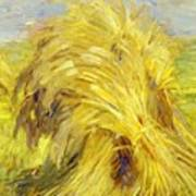 Sheaf Of Grain 1907 Art Print