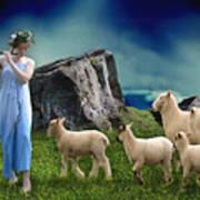 Sheep Whisperer Art Print